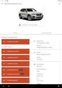 Wheel Size - Wheels database,Tire Size Calculator 2.8.6 Screenshots 11
