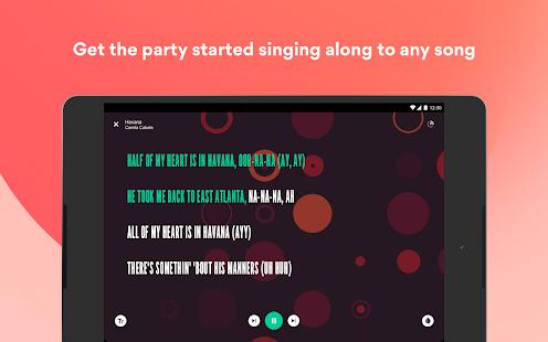 Musixmatch - Lyrics for your music 7.8.3 Screenshots 20