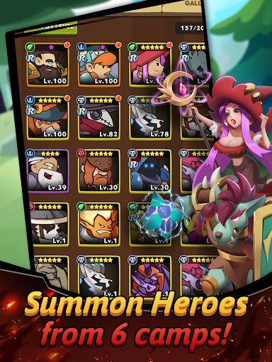 Hero Summoner - Free Idle Game  screenshots 21