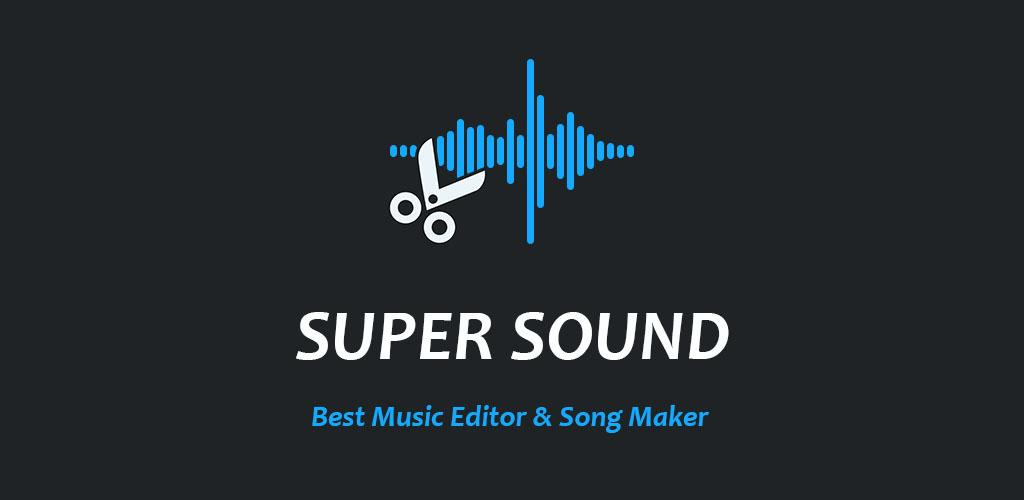Super Sound - Free Music Editor & MP3 Song Maker poster 0