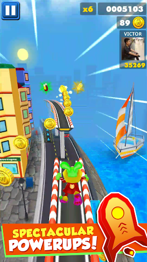 Royal Princess Subway Run - Fun Surfers 1.23 Screenshots 3