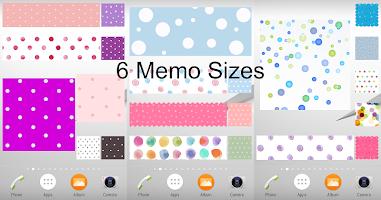 Sticky Memo Notepad *Dots* 3 Free