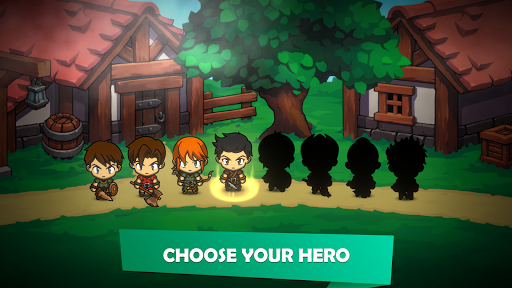 Kinda Heroes: Legendary RPG with Epic Battles apkslow screenshots 9