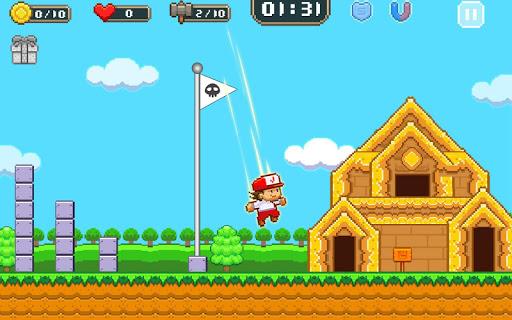 Super Jim Jump - pixel 3d 3.6.5026 screenshots 17