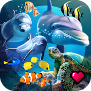 Ocean Reef Life - 3D Virtual Aquarium