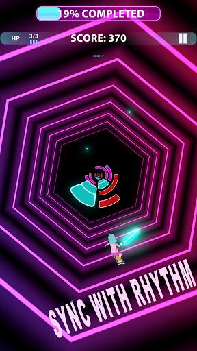 Code Triche Music Surfer - offline tap music games. Dance now (Astuce) APK MOD screenshots 3