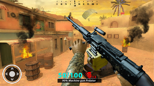 New Free Fire Game 2021:FPS Shooting New Game 2021 1.2.8 screenshots 11