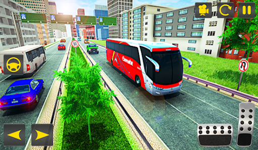 Driving Bus Simulator - Bus Games 2020 3D Parking 5 screenshots 2
