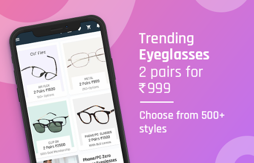 Lenskart: Eyeglasses, Sunglasses, Contact Lens App 3.0.7 screenshots 6