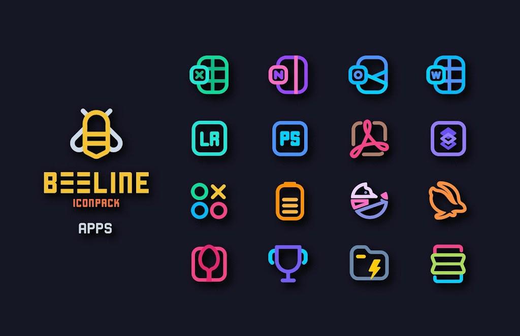 BeeLine Icon Pack  poster 5