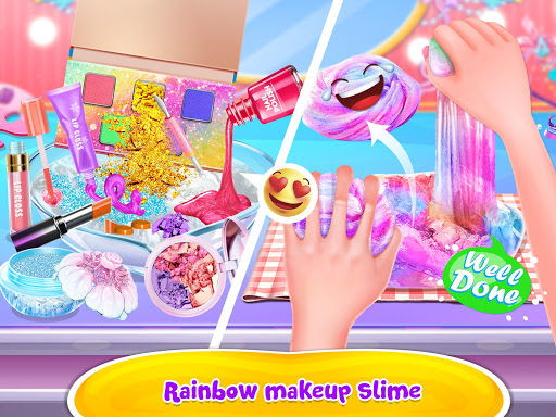 Bubble Balloon Makeup Slime  - Slime Simulator  screenshots 11