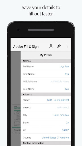 Adobe Fill & Sign: Easy PDF Doc & Form Filler. 1.6.0 Screenshots 3