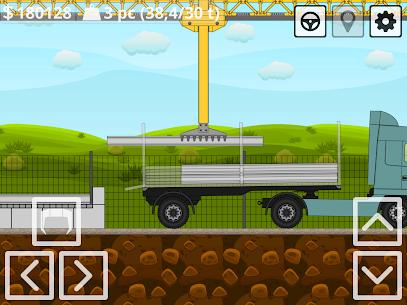 Mini Trucker – 2D offroad truck simulator MOD APK 1.6.0 (Purchase Free) 13