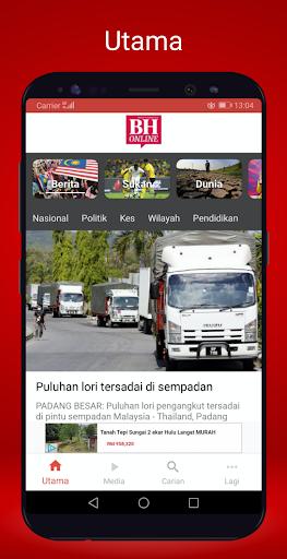 Berita Harian Mobile 2.8.3 screenshots 1