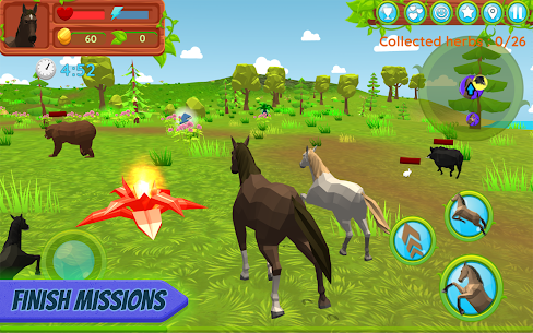 Horse Family – Animal Simulator 3D MOD (Gold Coins/Food) 3