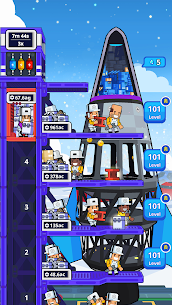 Rocket Star MOD APK- Idle Space Factory Tycoon (Unlimited Star Coins) 8
