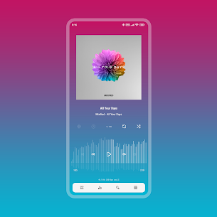 Aurora – Poweramp v3 Skin APK [PAID] Download 3