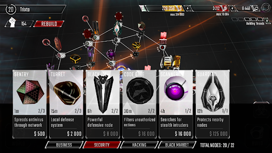 Hackers MOD APK 1.210 (Unlimited Money/Credits) for Android 1