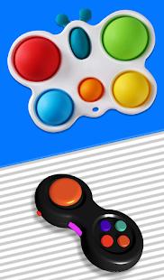 Fidget Cube Pop It 3D Anti stress satisfying Toys 1.1.0 Screenshots 6