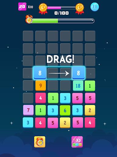 Number Blocks - Merge Puzzle 1.18.2 screenshots 6