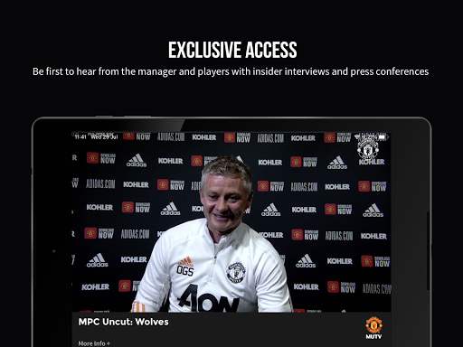 MUTV u2013 Manchester United TV 2.9.3 Screenshots 10