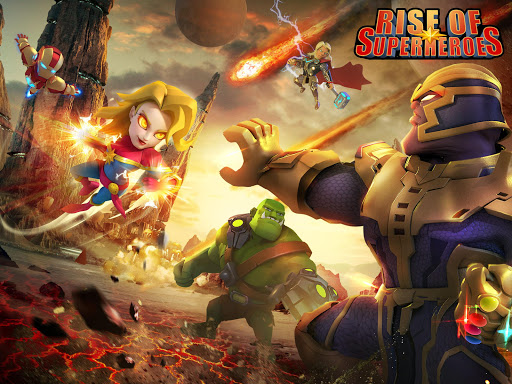 Rise of Superheroes:  Zombies Age - Empires Mobile screenshots 6