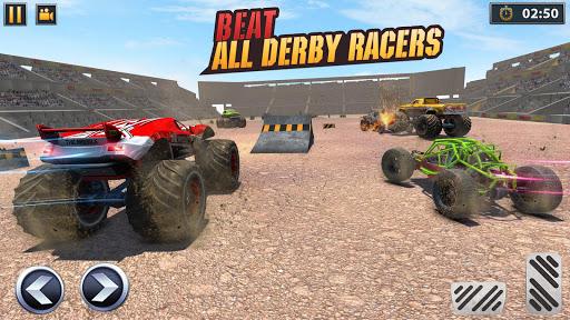Real Monster Truck Demolition Derby Crash Stunts 3.0.8 screenshots 2