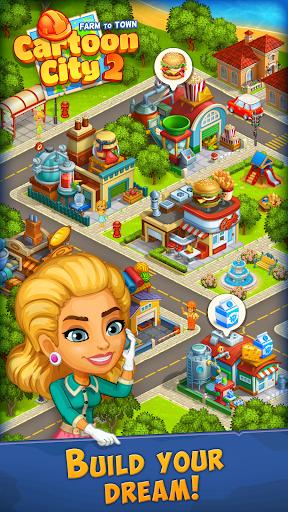 Cartoon City 2:Farm to Town.Build your home,house modavailable screenshots 9