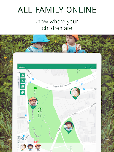 Family GPS tracker KidsControl  Screenshots 9