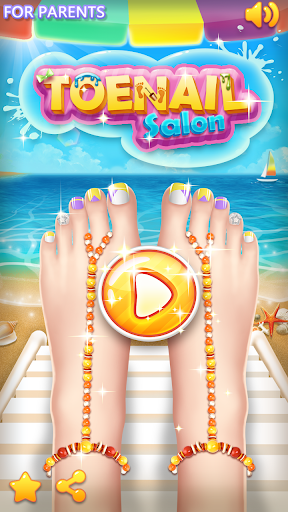 💅Princess Nail Makeup Salon2 - Beautiful Toenail APK MOD Download 1