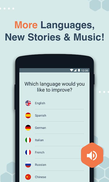 Beelinguapp: Learn Spanish, English, French & More  poster 1