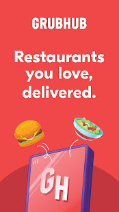 Grubhub: Local Food Delivery & Restaurant Takeout 2021.28 Screenshots 1