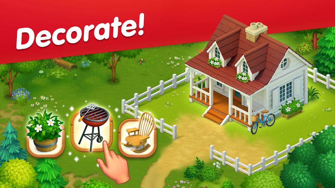 Greenvale: Match Three Puzzles & Farming Game!