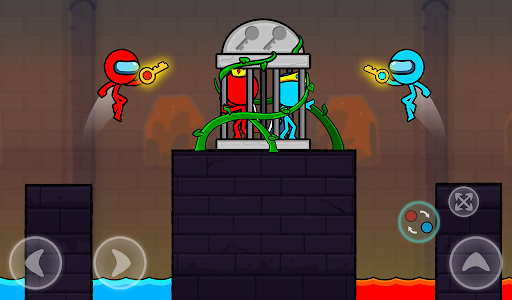 Red and Blue Stickman : Season 2 android2mod screenshots 15