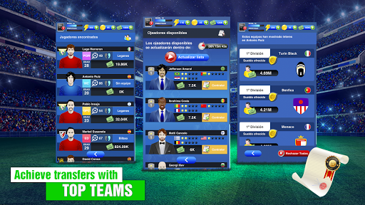 Soccer Agent - Mobile Football Manager 2019 2.0.3 screenshots 3