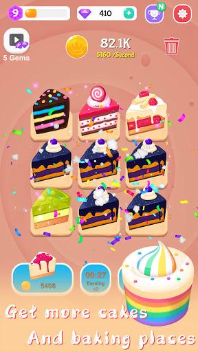 Merge Cake Mania - idle baking tycoon  screenshots 9