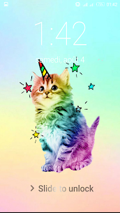 Kawaii Cat Lock Screen For Pc (Download On Computer & Laptop) 1