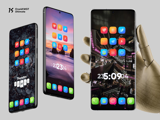 Download APK: One4KWGT Ultimate – collection of widgets for KWGT v1.5 [Premium]