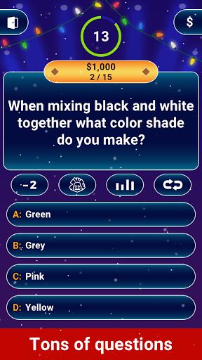 Millionaire 2020 -  Free Trivia Quiz Offline Game 1.5.3.3 Screenshots 12