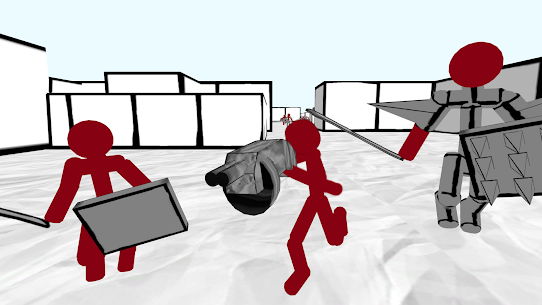 Stickman Fps Shooter: 3D Rasstrel Hack for iOS and Android 2