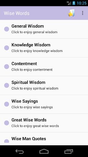 Wise Words screenshots 1