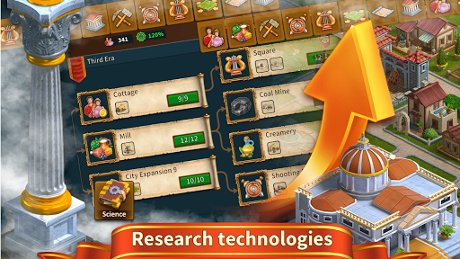 Rise of the Roman Empire: Grow, Build your Kingdom screenshots 12
