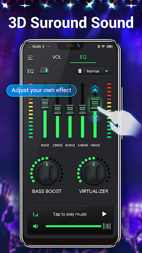 Equalizer & Bass Booster - Music Volume EQ 1.6.3 screenshots 2