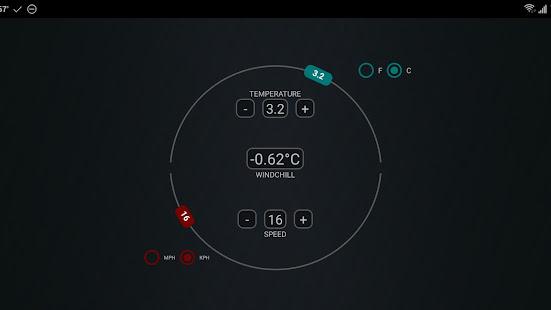 Windchill Calculator