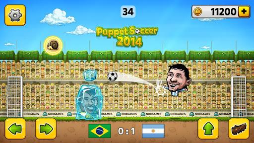 ⚽Puppet Soccer 2014 - Big Head Football 🏆 Latest screenshots 1