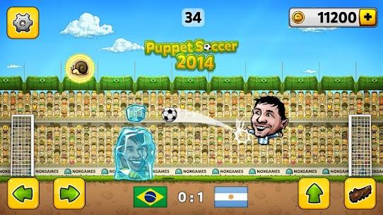 Puppet Soccer 2014 – Big Head Football Mod Apk 3.0.4 (Unlimited Money) 1