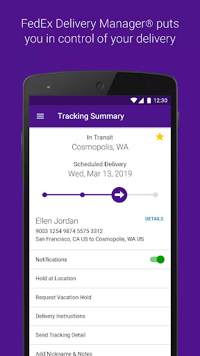FedEx Mobile 8.5.1 Screenshots 3