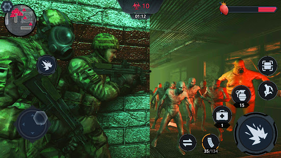 Zombie Survival 3D - FPS Gun Shooter Game 1.0.99 APK + Mod (Unlimited money) untuk android