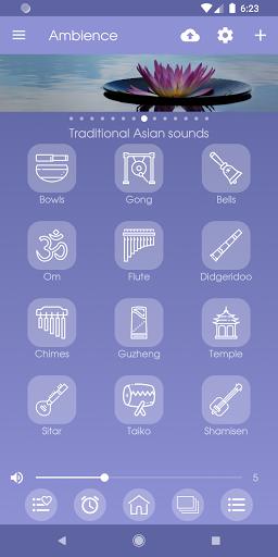 Ambience - Nature sounds: sleep and meditation android2mod screenshots 5