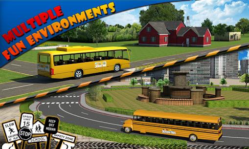 Schoolbus Driver 3D SIM Apk Download 5